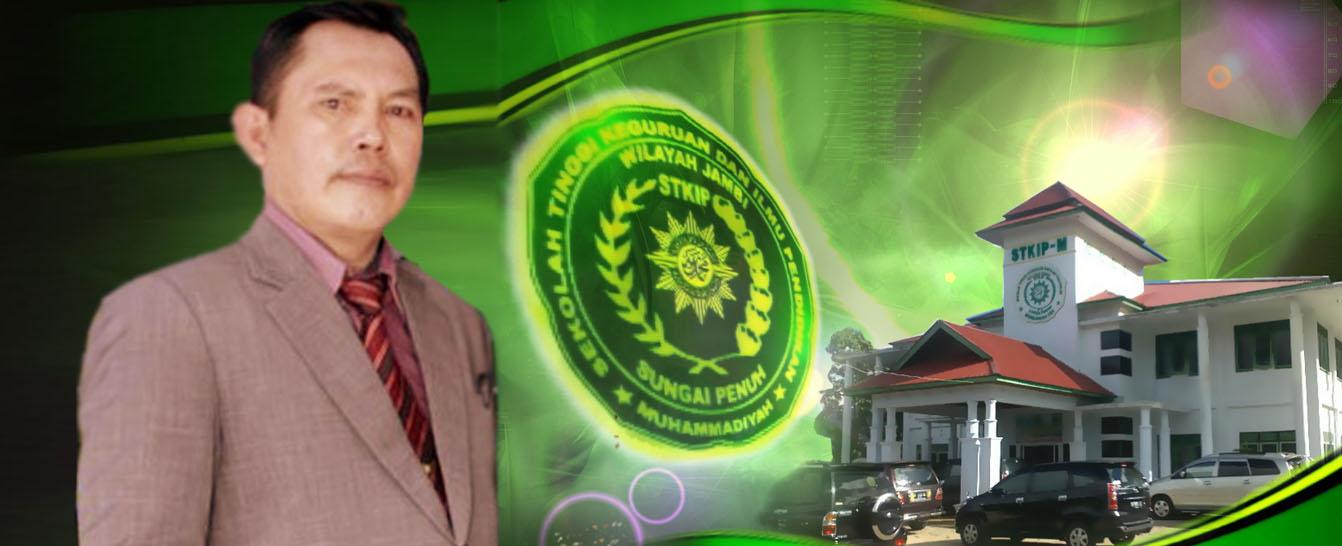 Ketua STKIP Muhammadiyah Sungai Penuh Drs. Ahmadi Zubir, MM
